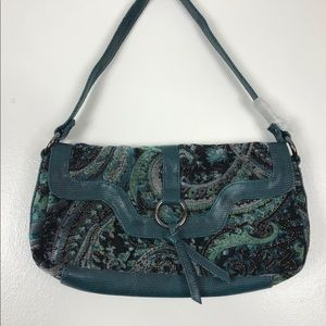 Vintage Suede/Velour Bag